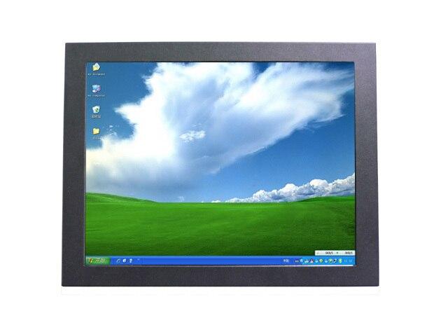 12.1 polegada open frame Touch Monitor com painel de tela de toque de 4 fio, Para atm, Vtm, Serviço de quiosque
