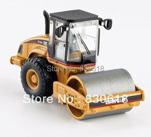 Norscot CAT CS 563E Smooth Drum Compactor Diecast Model 1/87 Caterpillar 55155 Construction vehicles toy