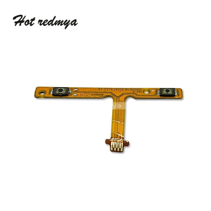 Original New For HTC One M8 mini Volume Button Flex Cable Swtich Sound Key Flex Cable Ribbon Replacement Repair Parts