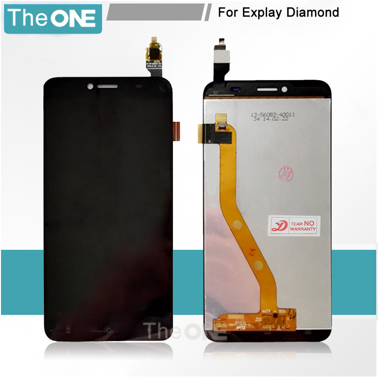 Black For Explay Diamond lcd Touch Screen Digitizer + LCD Display Assembly for explay diamond lcd screen explay для смартфона explay craft