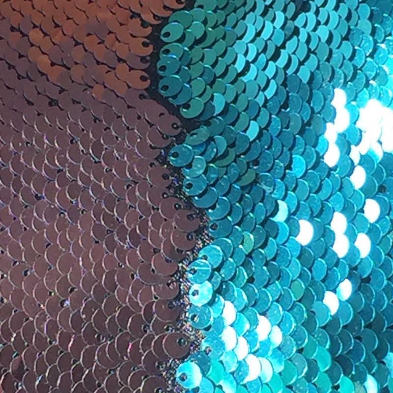 Mới Nàng Tiên Cá Đầm Gối Ma Thuật Đổi Màu Có Thể Đảo Chiều Đầm Ném Gối Trái Tim Đệm Trang Trí Modens Áo Gối Chần Gòn