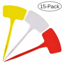 Attrayant 15pcs 12x27cm Flat T Type Thick Plastic Seed Garden Stakes