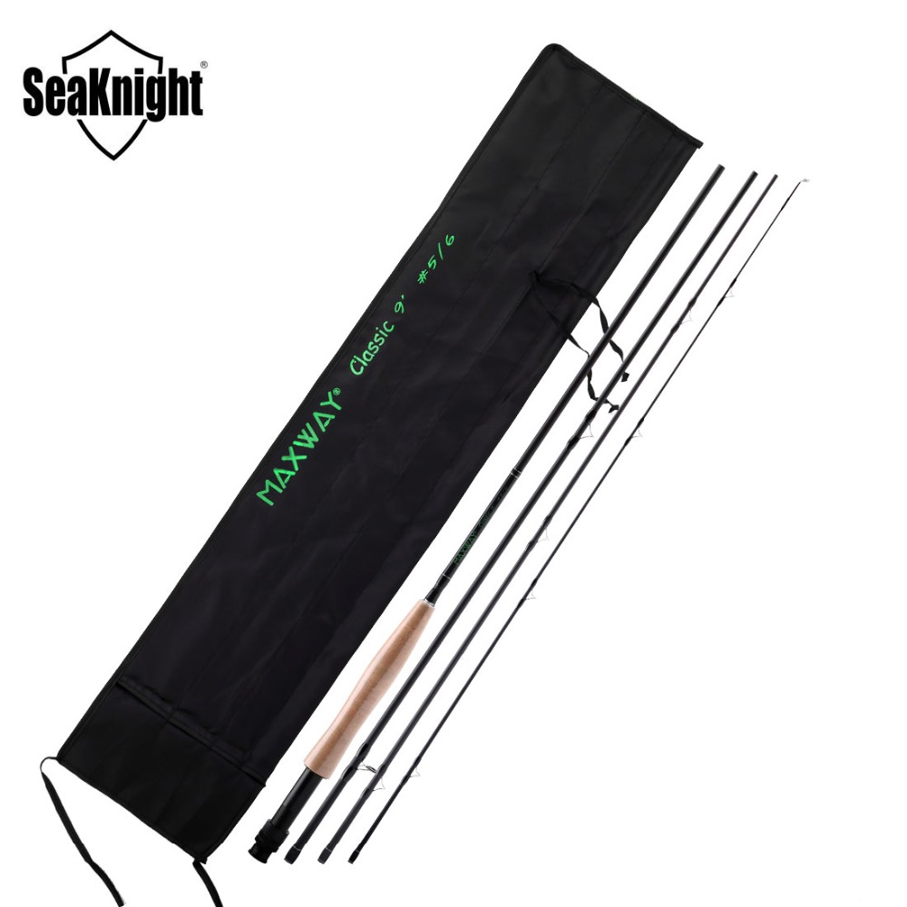 SeaKnight MAXWAY Classic Series Fly Fishing Rod 3 4 5 6 7 8 Medium Fast Action