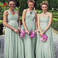 Three Style 2016 New Arrival Spring Mint Green Cheap Chiffon Long Floor Length Simple Bridesmaid Dresses Under 100$ Liyatt