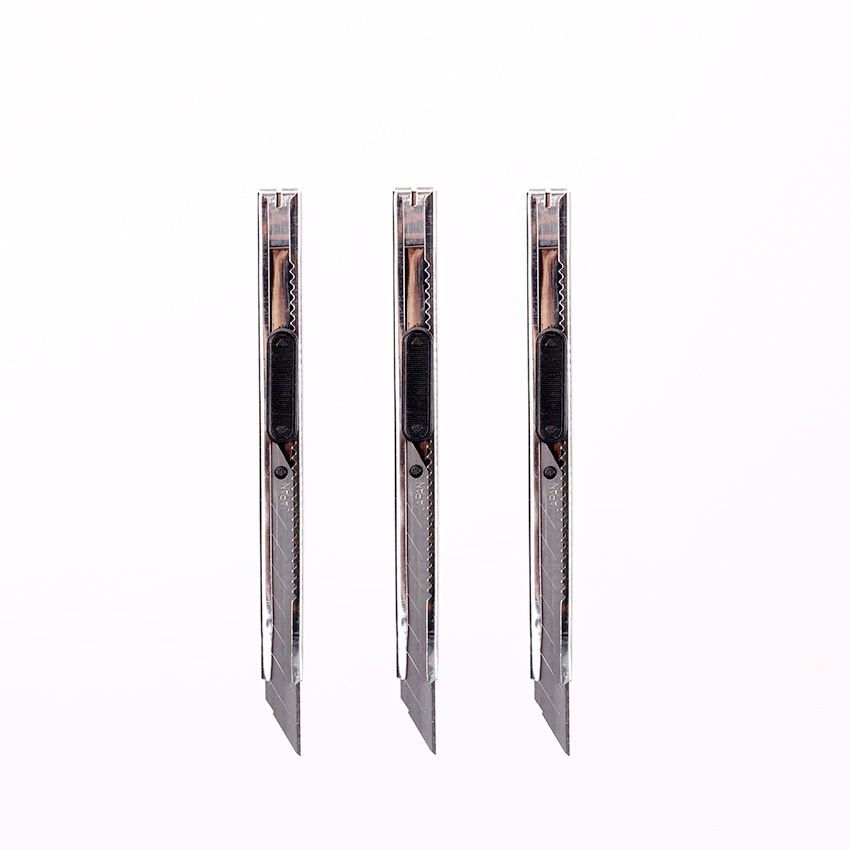 Office Cutter Students Utility Knife Snap Off Retractable Razor Blade Knife For School Stationery Supplies