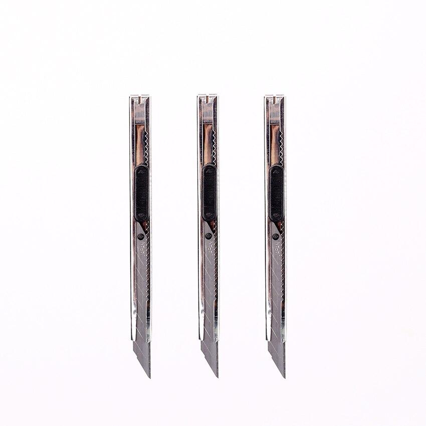 Офисная резка для студентов нож оснастки выдвижное лезвие нож для школы канцелярские принадлежности
