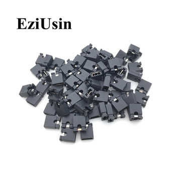 200pcs Pin Header Jumper blocks Connector 2.54 mm for 3 1/2 Hard Disk Drive, CD/DVD Drive, Motherboard and/or Expansion Card