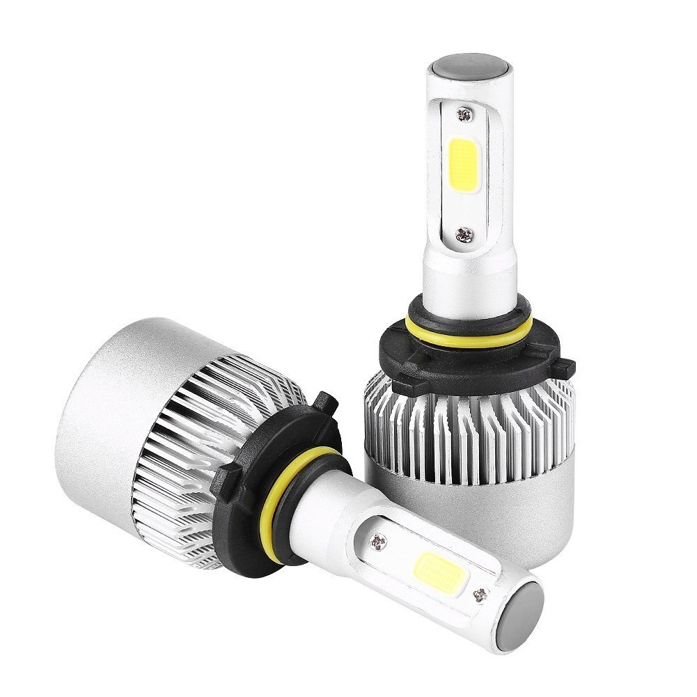 8000LM 12000K S2 super light car <font><b>LED</b></font> Headlight 9004 9005 9012 <font><b>H4</b></font> Hi-Lo Beam H7 H11 bulb 12v 24v 2pcs image