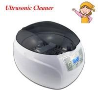 1pc Digital 110/220V Ultrasonic Cleaner for Jewelry Bath Display Household 750ml 50W LED Lighting JP 900S