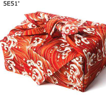 Japanese style Wrap the cloth furoshiki one side print/ Japan classic tradition wave printed /Many Uses
