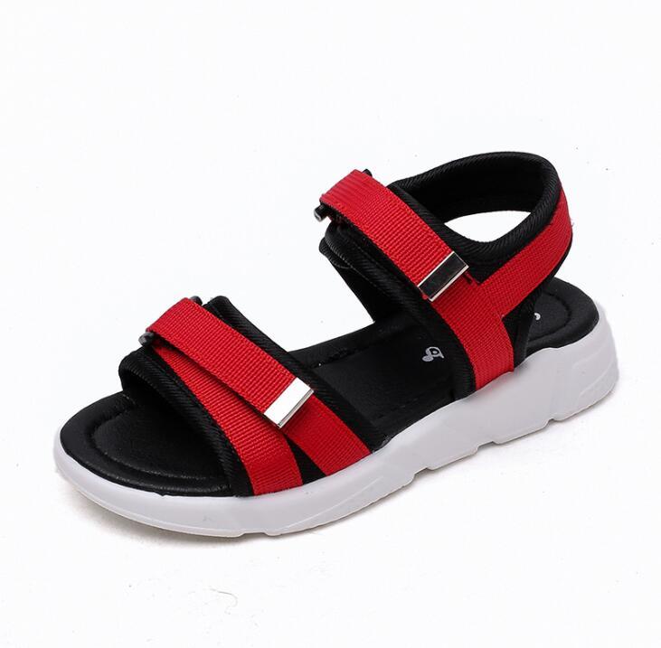 2019 Marke Sommer Strand Sandalen Kinder Sandalen Jungen Leder Sommer Schuhe Casual Sport Sandalen Für Jungen Angenehm Zu Schmecken