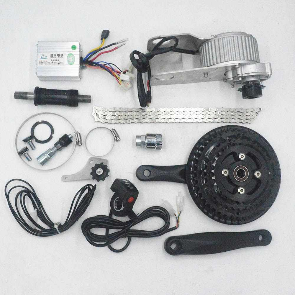 36V 350W electric bike conversion kit bicycle center engine ebike motor for change MTB mountain bike to ebike