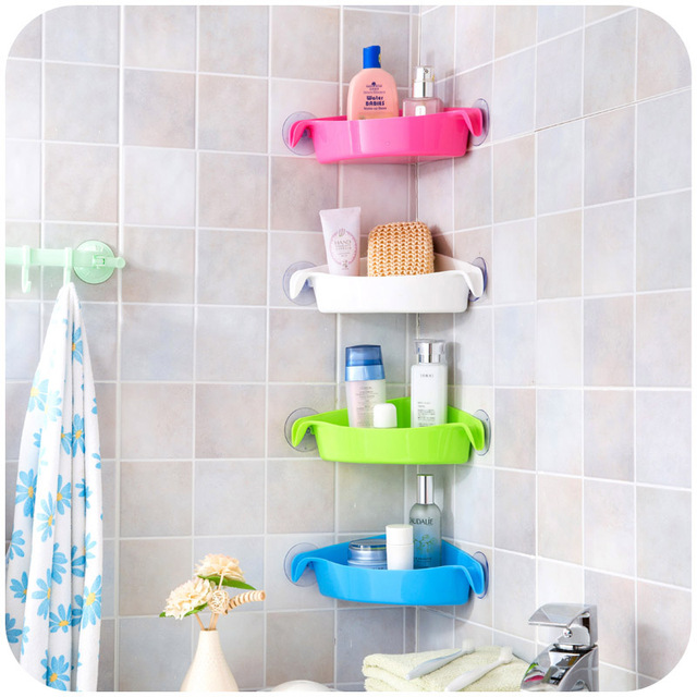 Multifunction strong sucker bathroom racks, kitchen racks, toilet ...