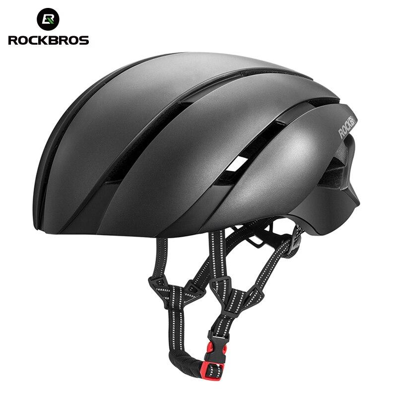 ROCKBROS Сверхлегкий велосипедный шлем EPS Integrally-molded велосипедный шлем светоотражающий Спорт Безопасность езда Кемпинг лыжные шлемы