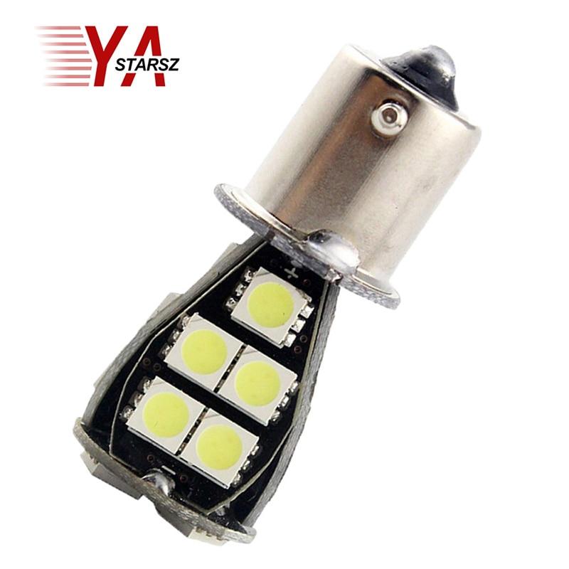 1pcs 1156 BAU15S 21 SMD Amber Yellow Car LED Light Bulb py21w led lamp Strobe Brake