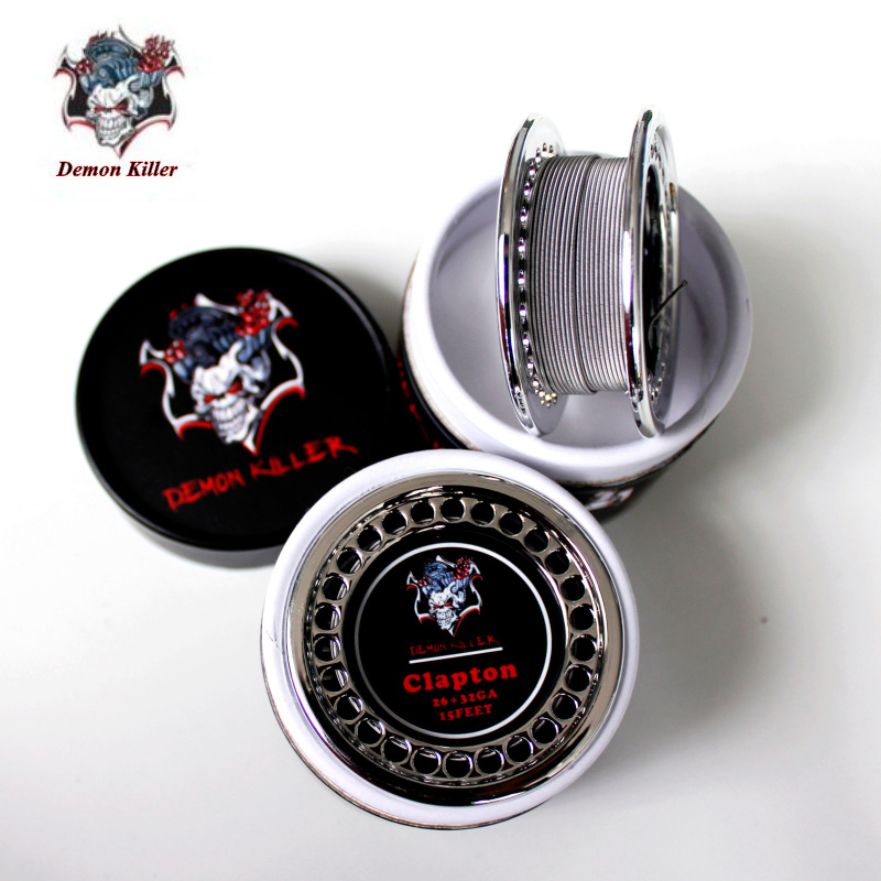 Demon Killer Alien DIY Wire Atomizer Coil Tiger Quad Alien Fused Clapton Flat Mix Twisted Wire VAPE