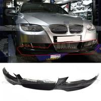 OLOTDI Für BMW 3 Serie E92 MT stil 2008 2011 Kohlefaser Car Styling Frontlippe Stoßdämpfer schutz Stoßstangen    -