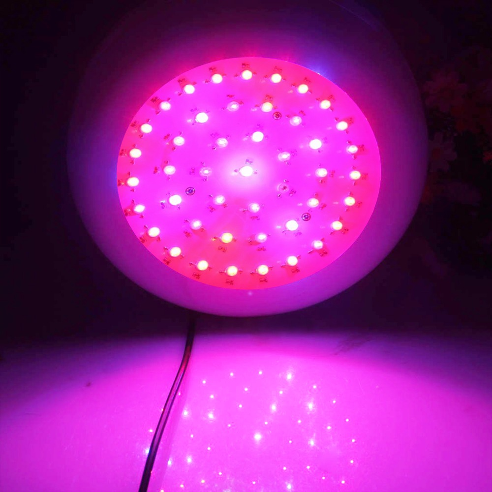 Free shipping  135w UFO 45X3w full spectrum led grow light agriculture light for Growing flower wholesale led grow lights 3pcs newest ufo 150w led grow light full spectrum 50x3w led chip plant growing lamp for flower vegetables express free shipping