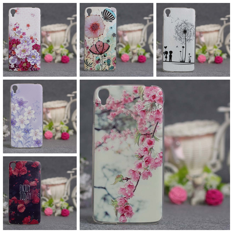 Luxury New 3D Printing Case For Alcatel One Touch Idol 3 5.5