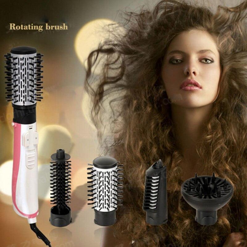 Hair Dryer Brush Rotating Hair Dryer Automatic Hair Brush Dryer Multifunctional Ionic Hair Styler Ceramic 2 braun 3in1 multifunctional hair styling tool hairdryer hair curler hair dryer blow dryer comb brush hairbrush professional as720