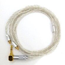 A2DC ZSFS Cabo conector para fone de Ouvido ATH CKS1100 E40 E50 E70 LS200 LS300 LS400 CKR90 CKR100 LS50 LS70 Atualizar cabo