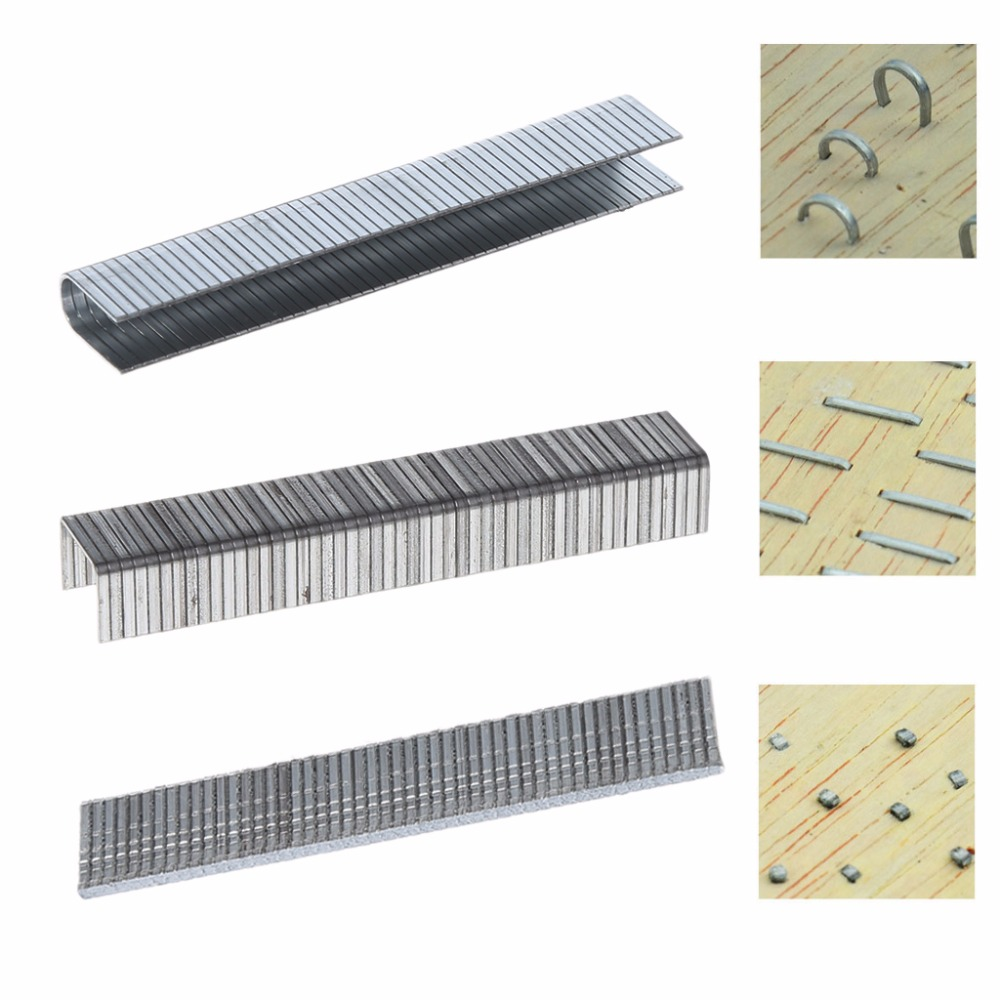 1000Pcs U/ Door /T Shaped Staples 10.1x2mm Nails For Staple Gun Stapler