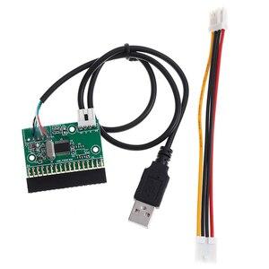 Image 4 - Adaptador de interface, cabo usb para 34pin conversor placa driver u disco para placa pcb floppy disco
