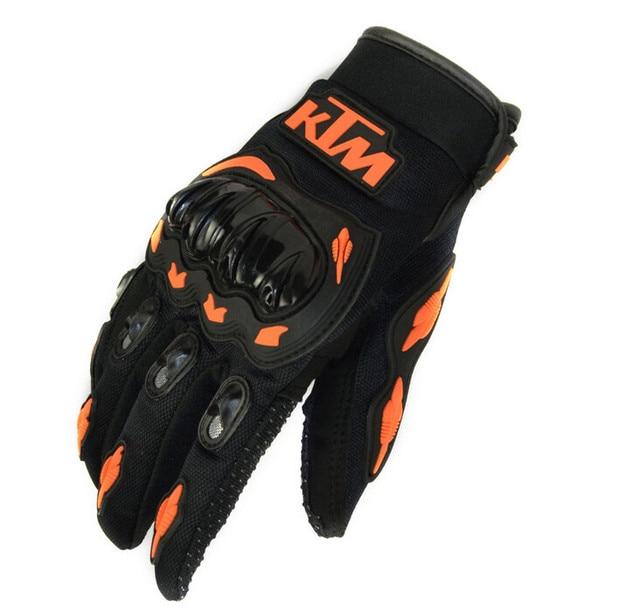 Summer Winter Full Finger motorcycle gloves gants moto luvas motocross leather motorbike guantes moto racing gloves