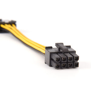 Image 4 - 19cm 8 핀 8 핀 ATX EPS 남성 여성 전원 확장 PSU 메인 보드 전원 확장 어댑터 케이블