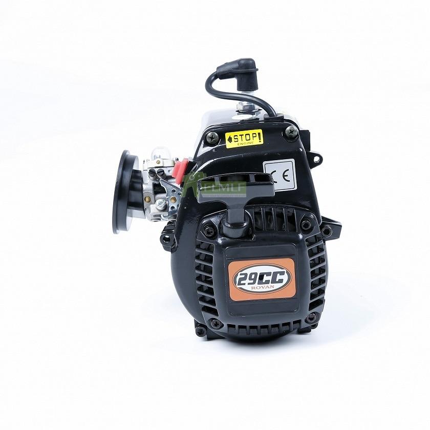 29cc 4 Bolt เครื่องยนต์ (คาร์บูเรเตอร์ Walbro และ Ngk Spark Plug) fit สำหรับ 1/5 HPI Rovan KM BAJA Losi 5ive T FG GoPed RedCat-ใน ชิ้นส่วนและอุปกรณ์เสริม จาก ของเล่นและงานอดิเรก บน   1