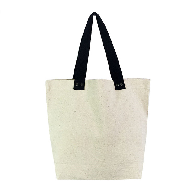 Casual Canvas Reusable Eco Eco Friendly Shopping Bag Women Tote