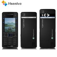 C902 Original Sony Ericsson C902 Unlocked Phone 5MP Camera Mobile Phone Bluetooth FM radio GPS Email MP3 Music Refurbished