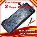 """Батареи A1322 Для APPLE MacBook Pro 13 """"Unibody A1278 MC700 MC374 Середине 2009 2010 2011, и подарок отвертки Бесплатная Доставка"""