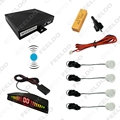 Car 4-Sensor Wireless Parking Reversing Aid Backup Radar System 10 Colors #FD-878