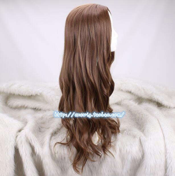 Image 2 - Cosplay Wig Scarlet Witch Wanda Django Maximoff Wavy Long Synthetic Hair for Adult-in Anime Costumes from Novelty & Special Use