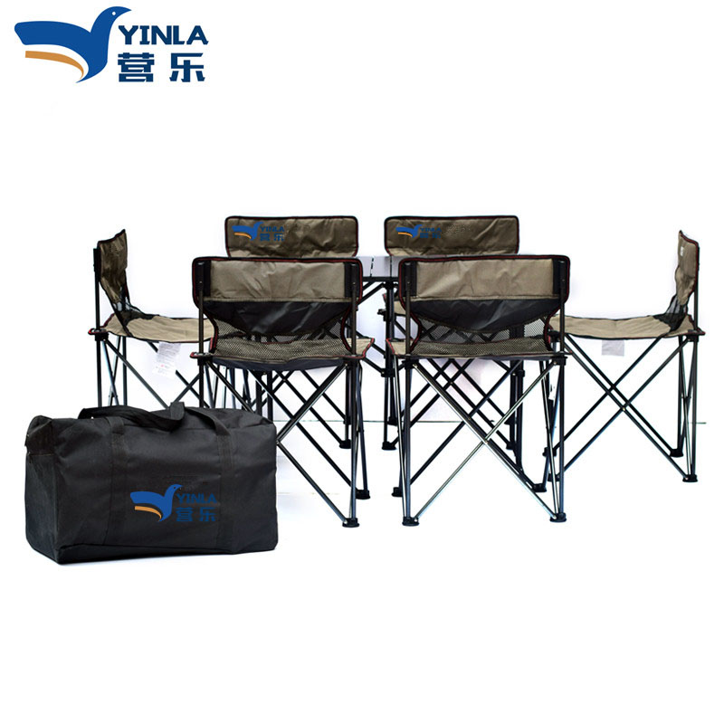 Incredible Us 299 0 One Table 4 Chairs Aluminum Alloy Outdoor Folding Small And Portable Picnic Barbecue Tables Chairs Camping Self Drivin In Outdoor Theyellowbook Wood Chair Design Ideas Theyellowbookinfo