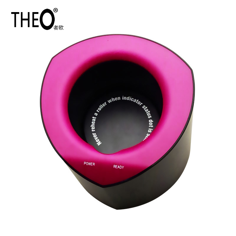 Theo Professional Styling Rollers Hairs Set innovative Hair Curlers Rollers Spiral Curling Iron heating Machine HQT-501B theo hair modeler professional rollers set hairs curls electric spiral irons machine innovation hair curling tong hqt 501b