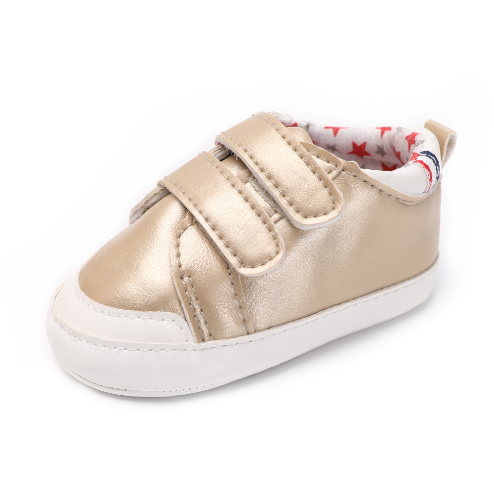 2018 Cool Newborn Unisex Baby Shoes Kids Boy Girl Soft PU Leather Solid Toddler Crib 0-18 Months First Walkers Spring/Autumn kids girls crib shoes baby items for small first walkers sapatos infatil soft sole baby shoes moccasin footwear 603043