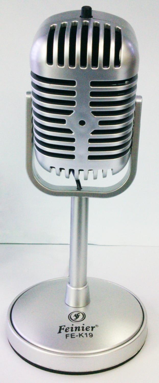 New Classical Design Vintage Retro PC Laptop Studio Gooseneck Microphone MIC FE19