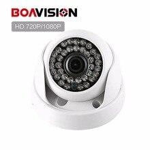 HD 720 P 1080 P IP Камера Купол ИК Ночное видение сети P2P Android IPhone xmeye вид 1.0MP 2MP видеонаблюдения Камера ip onvif
