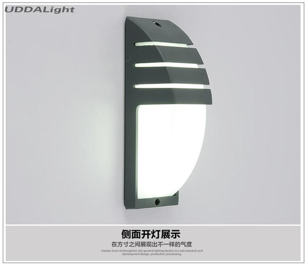 parede 10 w smd conduziu a luz ip65 da parede do jardim