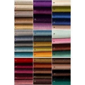 Image 3 - Hoge Shading Luxe Fluwelen Blackout Windows Gordijn Drape Panel Voor Woonkamer Slaapkamer Interieur Thuis Decoratie Effen Kleur