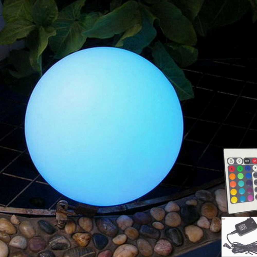 led christmas decorations lights ball lamp rgb d40cm outdoor lighting