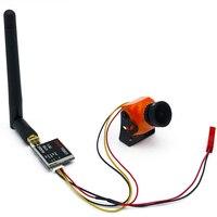 5.8G FPV Set Video 200/600mw Transmitter and Mini FPV camera CCD 800TVL 2.1mm/2.3mm Lens 1/3 Mg SUPER HAD II For RC Drone Car
