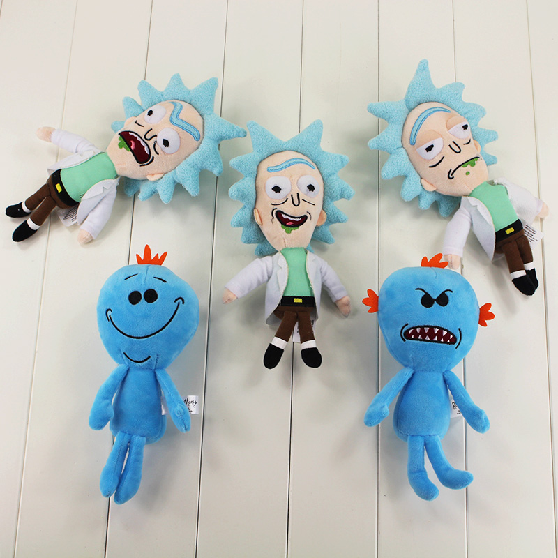 5Style Q version 23cm Rick and morty Rick Sanchez Morty Smith Mr Meeseeks Beth Jerry stuffed
