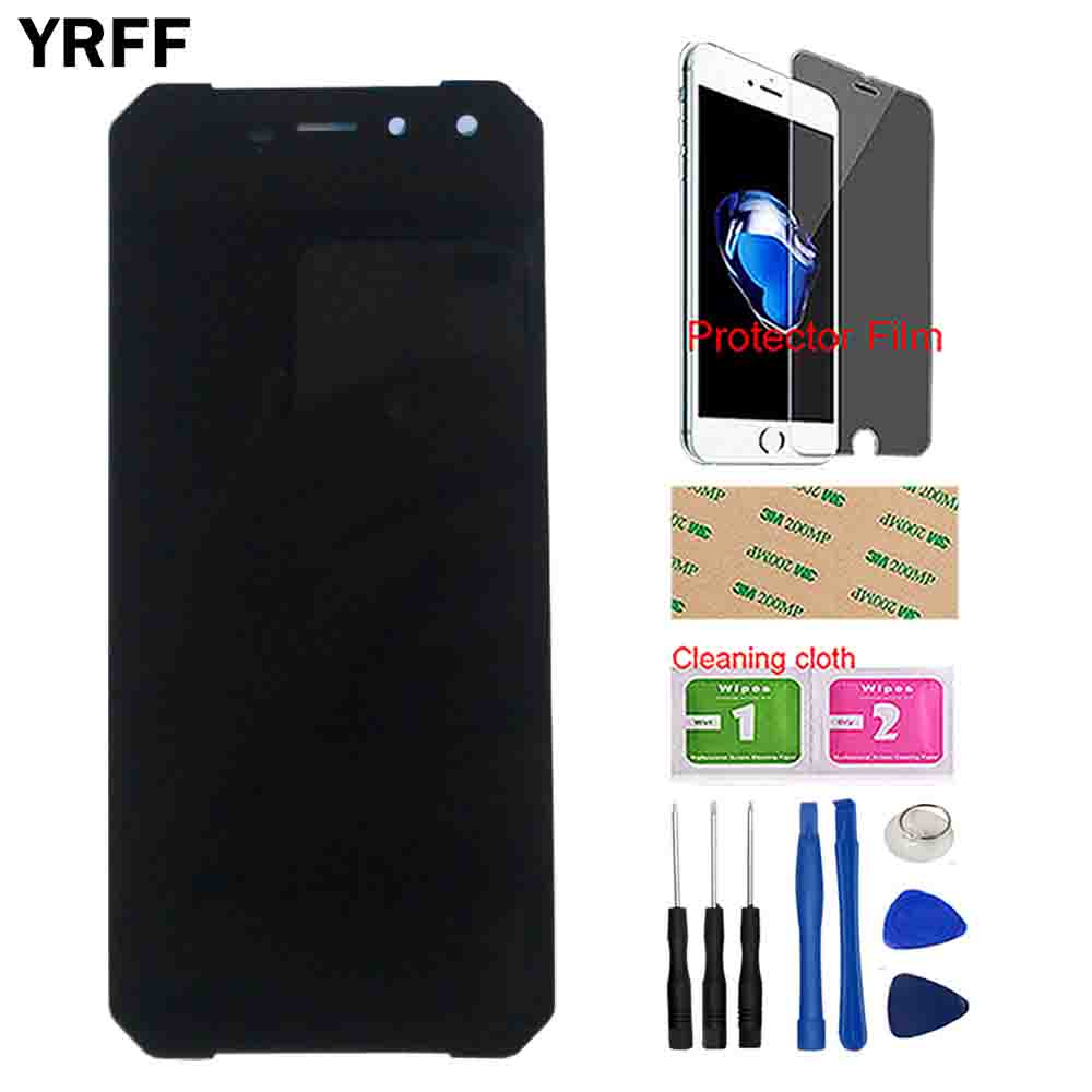 Image 2 - YRFF Mobile LCD Display For Leagoo Xrover C LCD Display Touch Screen Front Glass Sensor Digitizer Panel Tools Protector Film-in Mobile Phone LCD Screens from Cellphones & Telecommunications