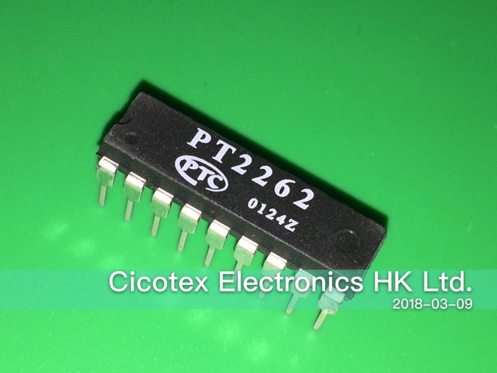 50Pcs PT2262 2262 DIP-18 Remote Control Encoder PTC IC