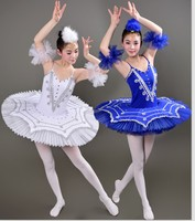 Swan Lake Ballet Costumes Adult Professional Platter Tutu Ballet Dress For Girls Women Classical Ballet Tutu