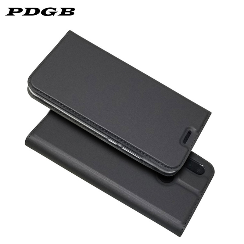 PDGB <font><b>Flip</b></font> Leather <font><b>Case</b></font> for <font><b>Huawei</b></font> Y6 Pro 2017 Y5 Y6 Y7 Prime <font><b>2018</b></font> Y9 2019 <font><b>P</b></font> <font><b>Smart</b></font> Plus Luxury Book Wallet Phone Cover Coque image