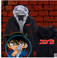 Detective CONAN caso cerrado Kaito Kid ANIME espesan la chaqueta con capucha capa